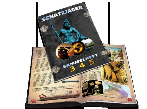 Schatzjäger Magazin - Sammel-Ausgabe 3-5