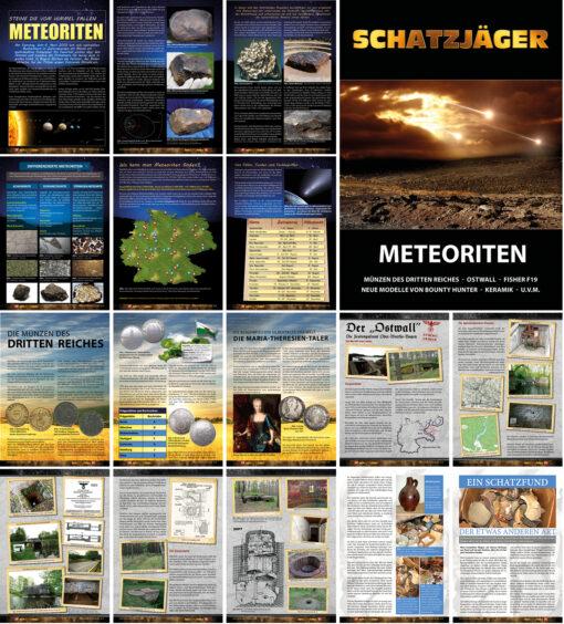 Schatzjäger Magazin - Sammel-Ausgabe 6-8