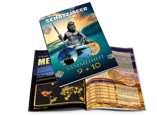Schatzjäger Magazin Sammel-Ausgabe 9-10