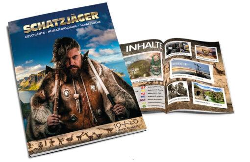 Schatzjäger Magazin Ausgabe 19 Titel 1