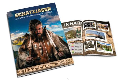 Schatzjäger Magazin Ausgabe 19 Titel