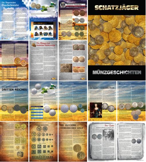 Schatzjäger Magazin - Münzgeschichten