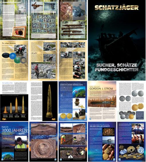 Schatzjäger Magazin - Sucher Schätze Fundgeschichten